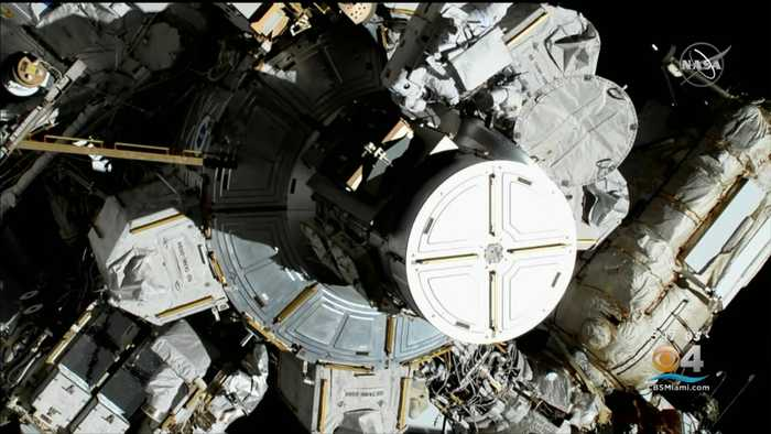 US Astronauts Perform First All-Female Spacewalk