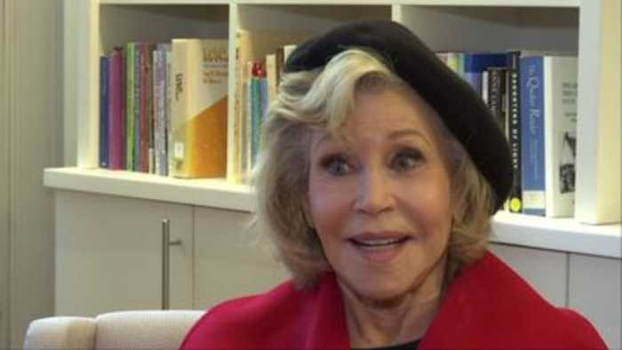 Fonda: I want to be as brave as little Greta