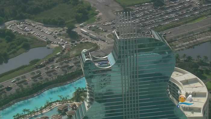 Final Preps Underway For Grand Opening Of Seminole Hard Rock's Guitar Hotel