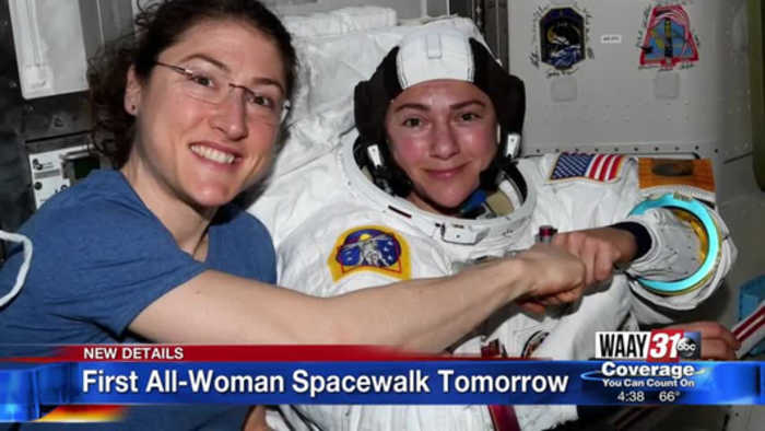 Huntsville Space Camp alum to be part of first all-female spacewalk