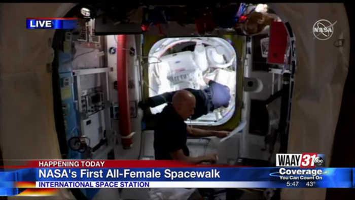 Two Women Make Space