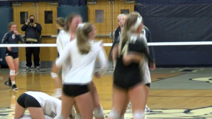 High school sectional volleyball scoreboard for Oct. 17
