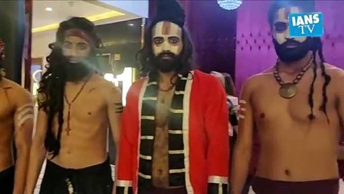 Laal Kaptaan|  Naga Sadhu, Noor Bai make-up look |  Aashmeen Munjaal
