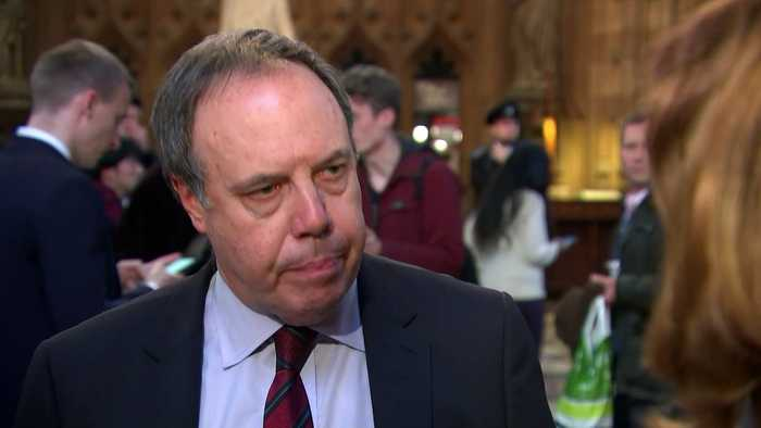 Nigel Dodds explains why DUP voted for the Letwin amendment