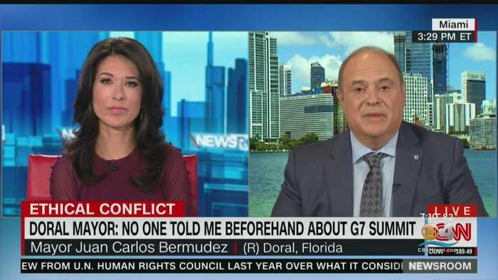 Doral Mayor Juan Carlos Bermudez On G-7 Summit
