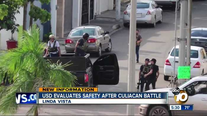 USD evaluates safety after Culiacan battle
