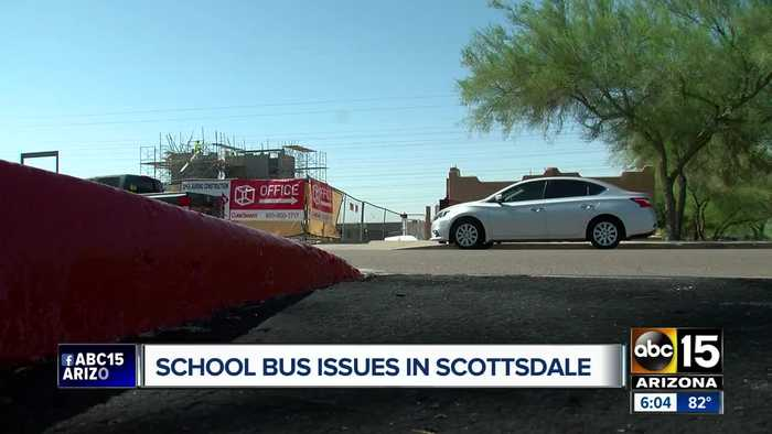 Scottsdale mother upset over late school buses, says children left waiting at bus stop