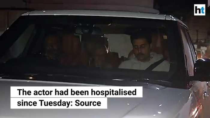 Amitabh Bachchan discharged from Mumbai hospital