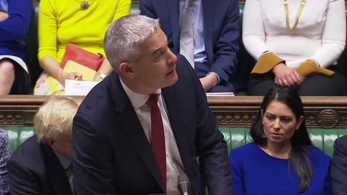 Stephen Barclay asks Sir Oliver Letwin to withdraw amendment to Brexit deal