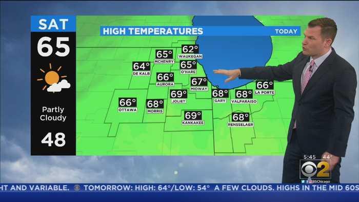 CBS 2 Weekend Weather 10-19-20