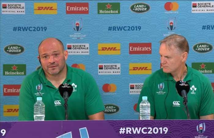 NZ coach Hansen praises Ireland's retiring Best and Schmidt after World Cup win
