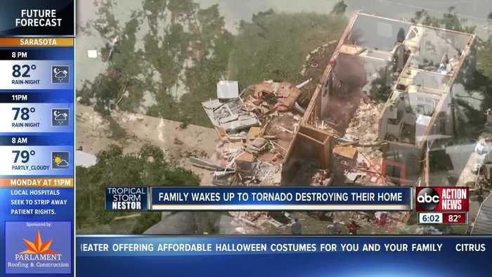 Team Coverage: Tornadoes rock Tampa Bay Area overnight