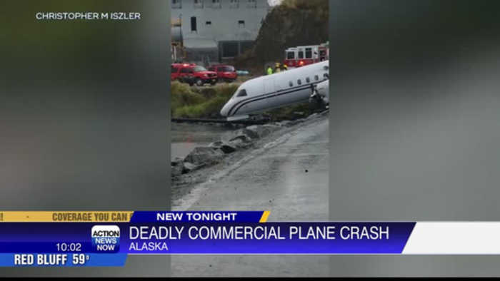 One dead after a plane carrying a high school swim team goes off the runway in Alaska