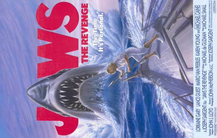 Jaws The Revenge Movie (1987)