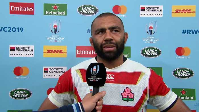 Michael Leitch was disappointed but proud after defeat to South Africa