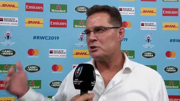 Rassie Eramus reflects on South Africa's Quarter Final victory