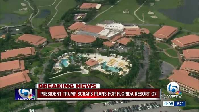Trump reverses course, says his Florida resort won't be used for G7 summit