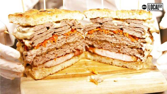 $375 8-Pound Meat Sandwich