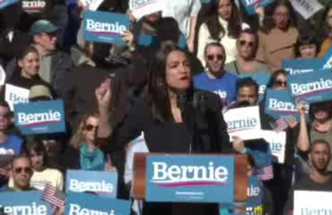 Bernie Sanders gets AOC endorsement