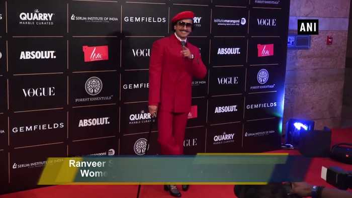 Ranveer Singh, Katrina Kaif dazzle at 'Vogue Women Of The Year Awards 2019