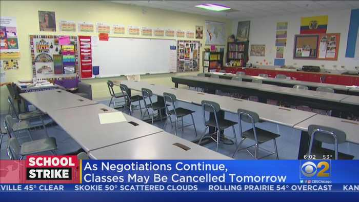CPS Strike Enters Day 4 After Progress In Negotiations