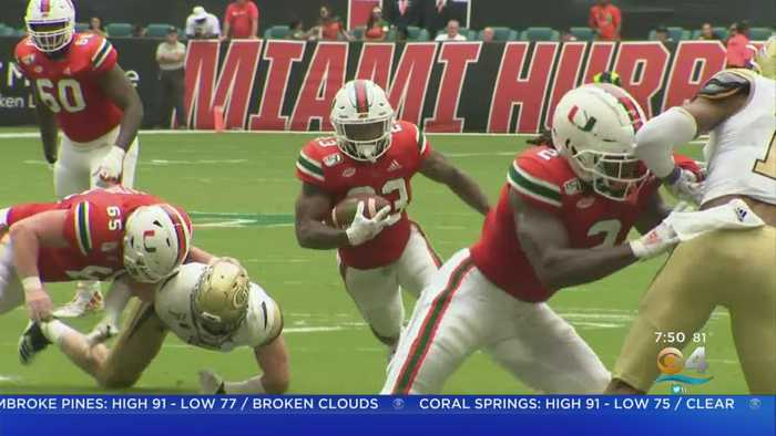 Miami Hurricanes Stunned By Georgia Tech