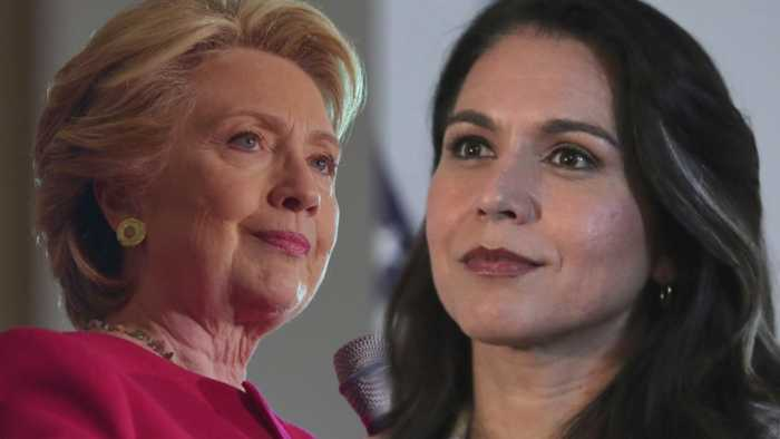 Tulsi Gabbard, Hillary Clinton In War Of Words Over 2020 Election