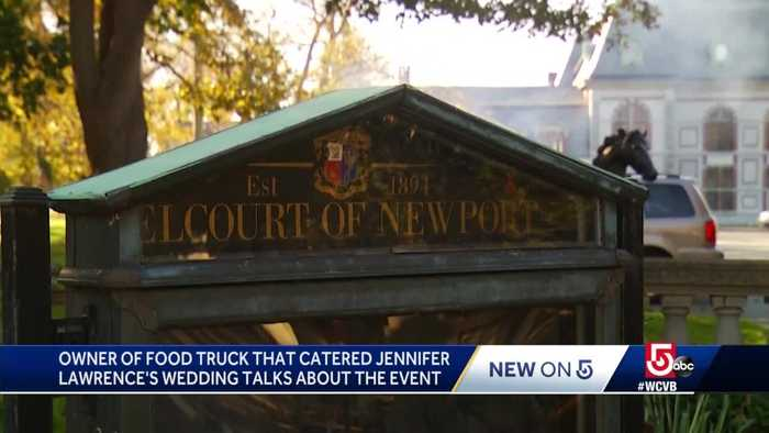 Food truck owner catered late-night grub for celebrity wedding