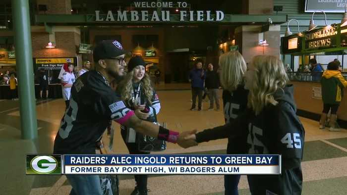 Alec Ingold returns to Green Bay