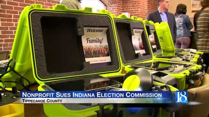 voting machine lawsuit