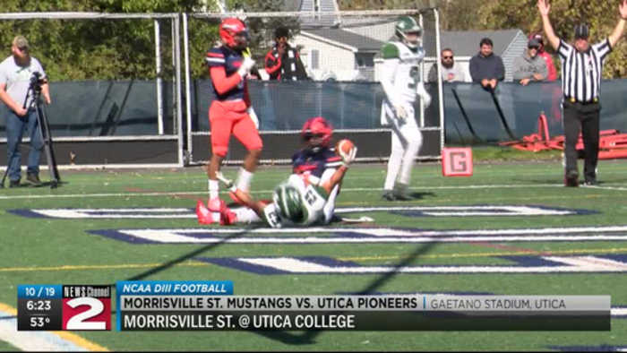 Scores 10-19-19: Morrisville St. and Clinton football win