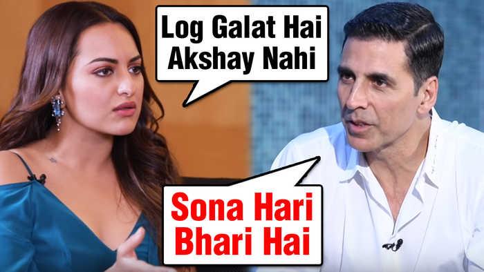 Sonakshi Sinha's EPIC Reply On Akshay Kumar's BODYSHAMING Comment