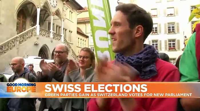 Swiss election: Greens gain while far-right loses ground - projection