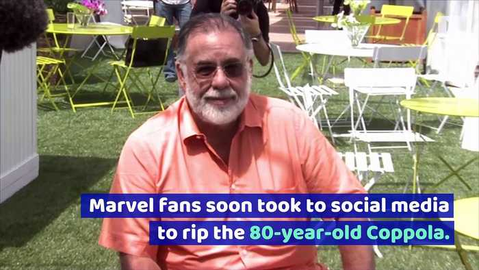 'Godfather' Director Francis Ford Coppola Calls Marvel Films 'Despicable'