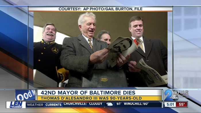 42nd Mayor of Baltimore, brother of Nancy Pelosi dies at 90
