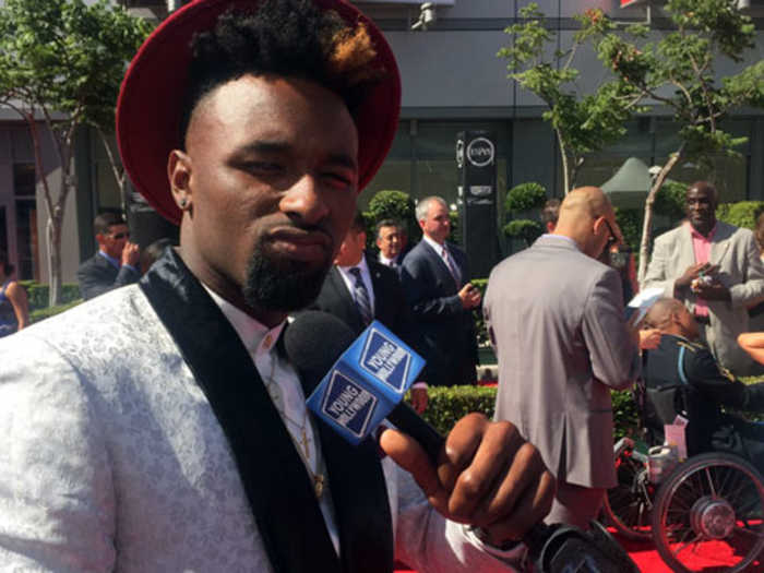 Jarvis Landry Catches Up With Odell Beckham Jr & More at the ESPYs