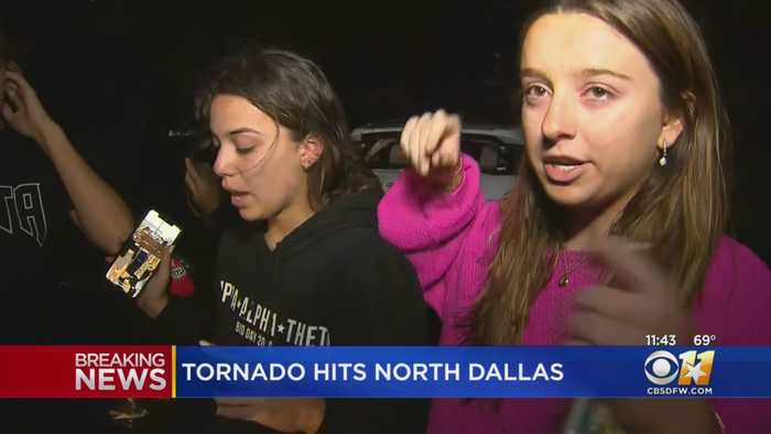 Residents Share Experience Witnessing North Texas Tornado