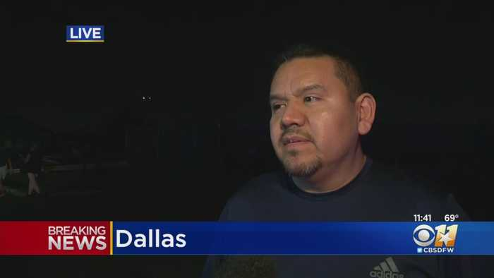 'It felt kind of like an Earthquake' Witness Recounts Surviving Dallas Tornado