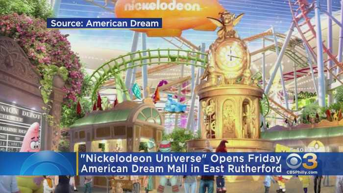 Nickelodeon Universe Opens This Week In New Jersey