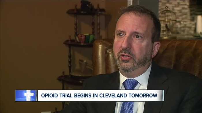 Opioid trial begins in Cleveland Monday