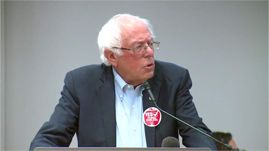 Sanders Struggles