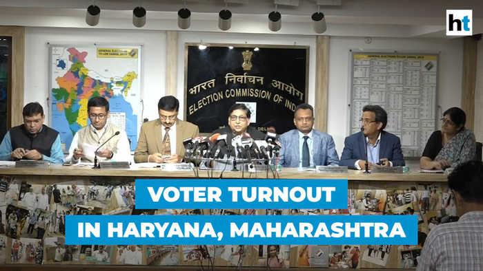 Assembly polls: Haryana records 65% voter turnout, 60.5% in Maharashtra