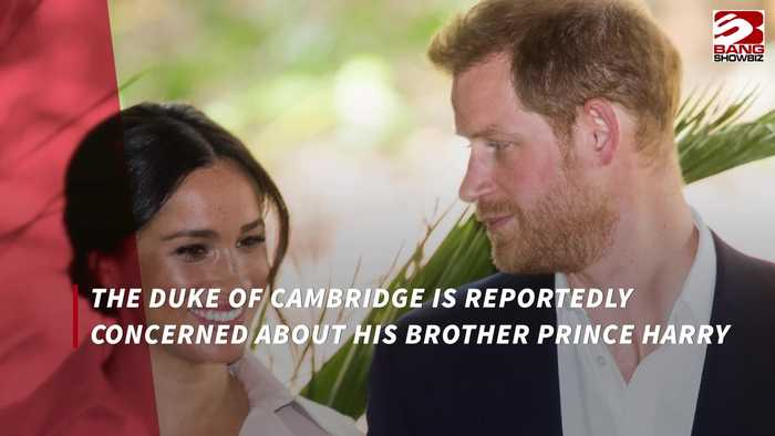 Prince William is worried about Prince Harry