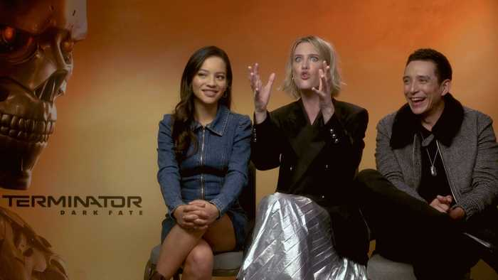 'Terminator: Dark Fate': Exclusive Interview With Mackenzie Davis, Natalia Reyes & Gabriel Luna