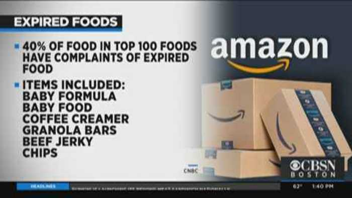Report: Amazon Selling Expired Foods