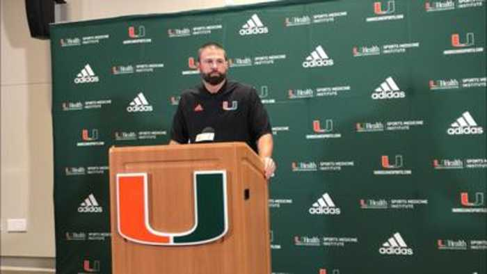 Miami DC Blake Baker on the Hurricanes' tackling struggles