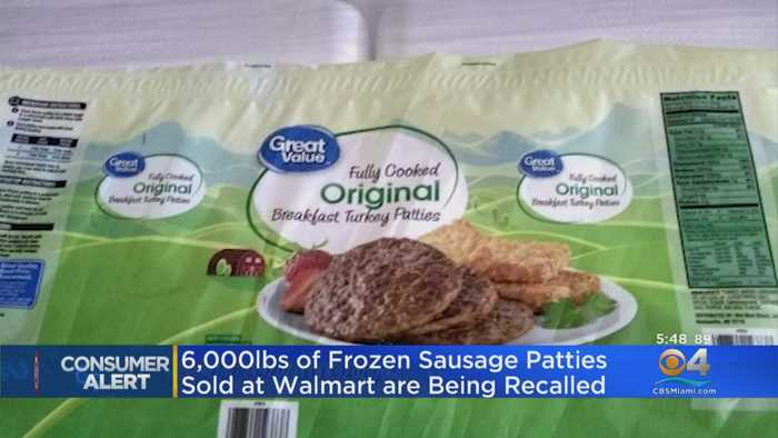 Frozen Sausage Patties Sold At Walmart Being Recalled