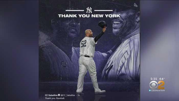 CC Sabathia Says Farewell To Baseball, Fans And New York