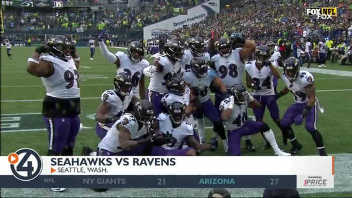 Ravens take down Seahawks in Seattle