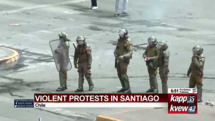 Santiago protests